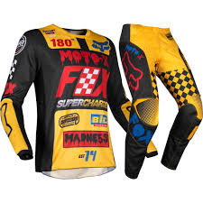 FOX 180 COMPLETO MX 2019 CZAR BLACK YELLOW