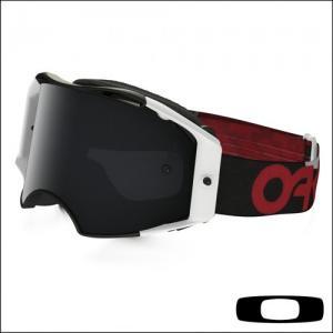OAKLEY AIRBRAKE MX FACTORY B1B RED/BLACK LENTE CLEAR