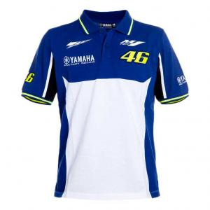 POLO VR46 MAN BLUE ROYAL YAMAHA 46