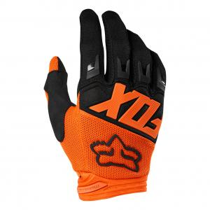 GUANTO FOX DIRTPAW RACE ARANCIO-NERO