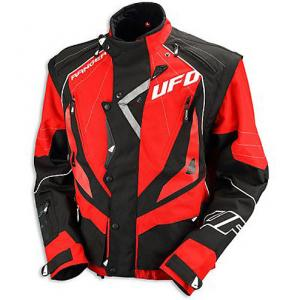 GIACCA ENDURO UFO BLACK-RED