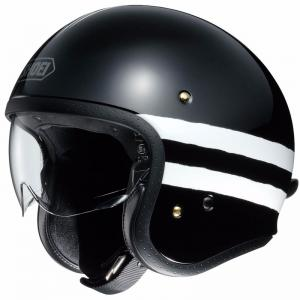 SHOEI J-O JET SEQUEL NERO LUCIDO