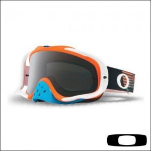 OAKLEY CROWBAR CIRCUIT BLUE ORANGE - Lente Dark Grey