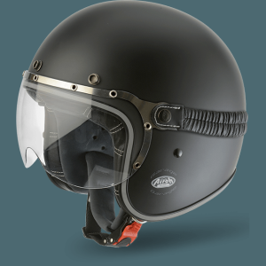 AIROH CASCO VINTAGE GARAGE BLACK MATT