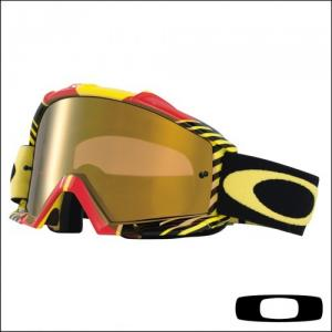 OAKLEY PROVEN BIO HAZARD RED YELLOW LENTE CLEAR
