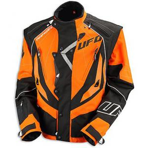 GIACCA ENDURO UFO BLACK-ORANGE