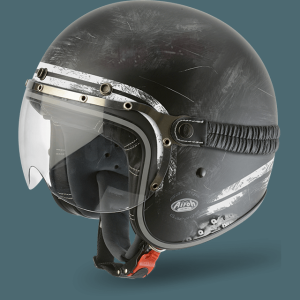 AIROH CASCO VINTAGE GARAGE RAW MATT