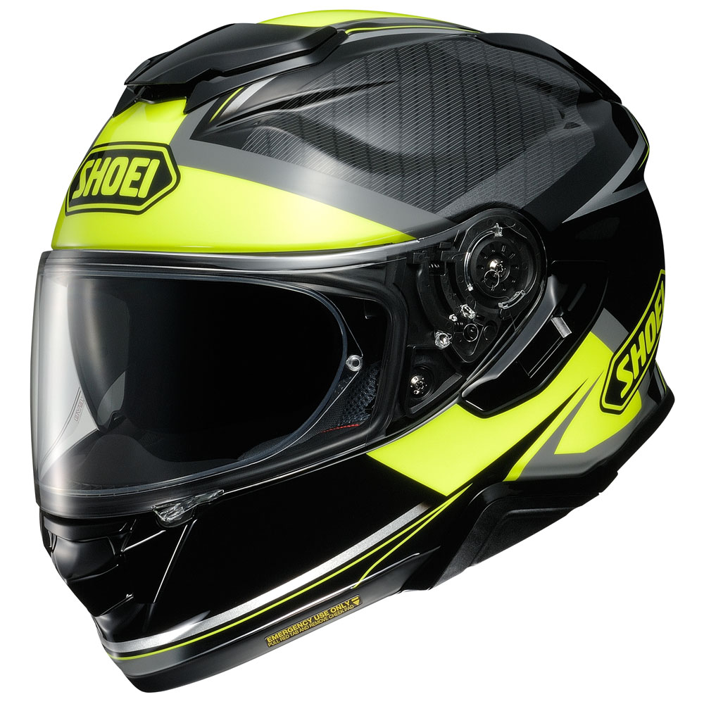 SHOEI CASCO INTEGRALE GT-AIR 2 AFFAIR TC-3 BLACK YELLOW